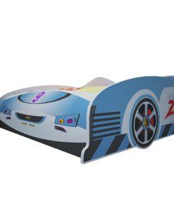 Giường ngủ trẻ em ôtô số 9 màu xanh