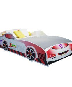 Giường ngủ trẻ em ôtô số 17 màu đỏ